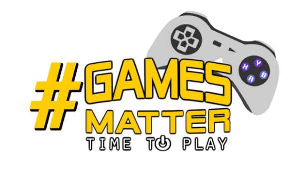 #Games Matter | Logo
