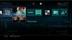 Transistor PS4 Theme | oprainfall
