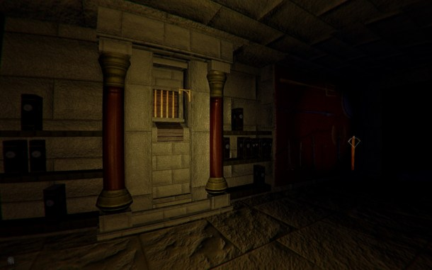 Depths of Fear: Knossos | The Library, Daedalus' window and the Armory Area.