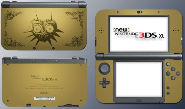 Majora's Mask New 3DS | Face Plates