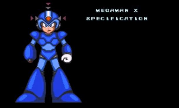 Building Character - Mega Man X | Specs