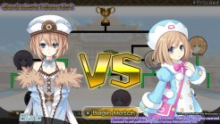 Neptunia Action Unleashed Blanc and Rom