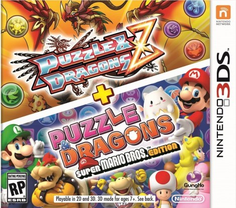 Puzzles & Dragons Cover | oprain