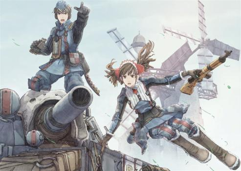 Valkyria Chronicles art Welkin