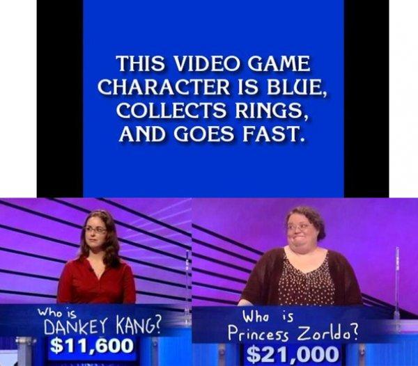 Sonic Joke | Jeopardy