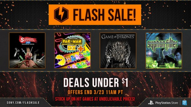 PSN Flash Sale | $1 games