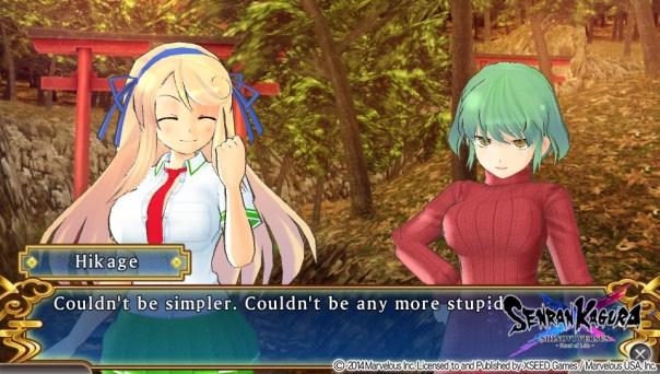 What is Senran Kagura?   Stupid