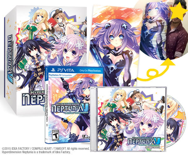 Hyperdimension Neptunia U Limited