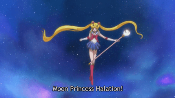 Sailor Moon Crystal Episodes 15-18 |Moon stick instead of cutie rod