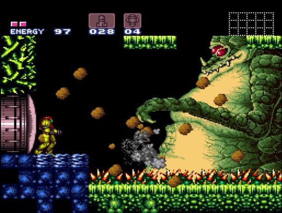 Super Metroid | Samus vs Kraid