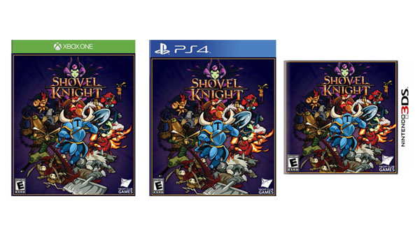 Shovel Knight | Physical Boxes