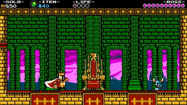Shovel Knight I Golden Throne