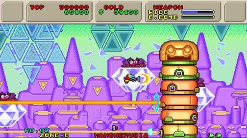 3D Fantasy Zone II W | Totem Pole Boss