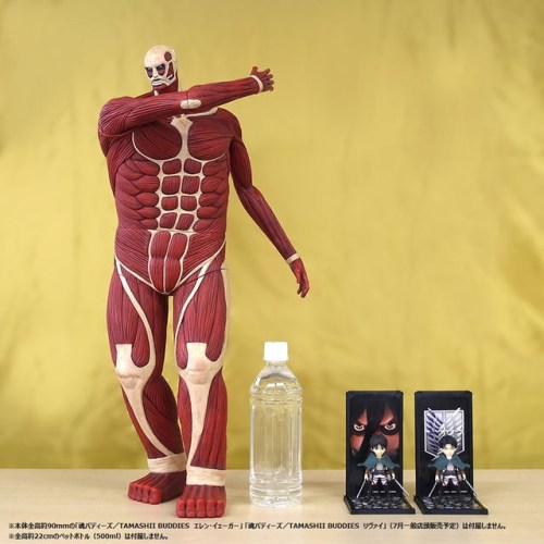 Colossal Titan - Size comparison