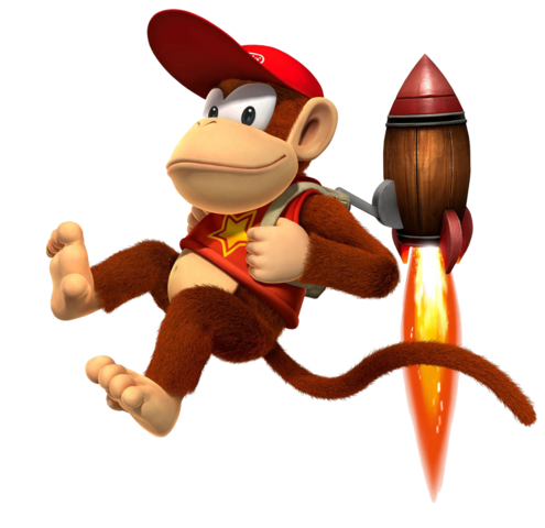 Diddy Kong Trademark Rumor