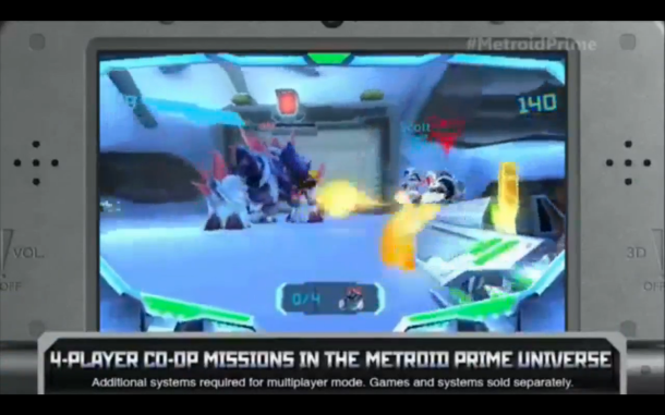 E3 2015 Nintendo - Metroid Prime Federation Force 1