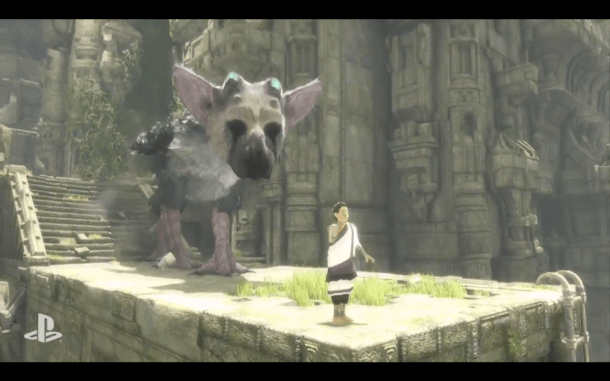 E3 2015 Sony - The Last Guardian 7