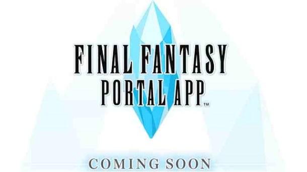Final Fantasy Portal App | E3 2015