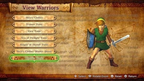Classic Link Tunic | Hyrule Warriors