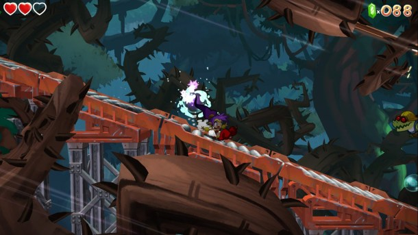 Shantae Half-Genie Hero | Slide