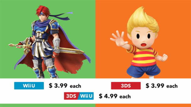 Roy and Lucas | Super Smash Bros. for Wii U and 3DS