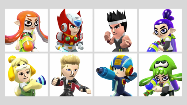 Mii Fighters - Wave 2 | Super Smash Bros. for Wii U and 3DS