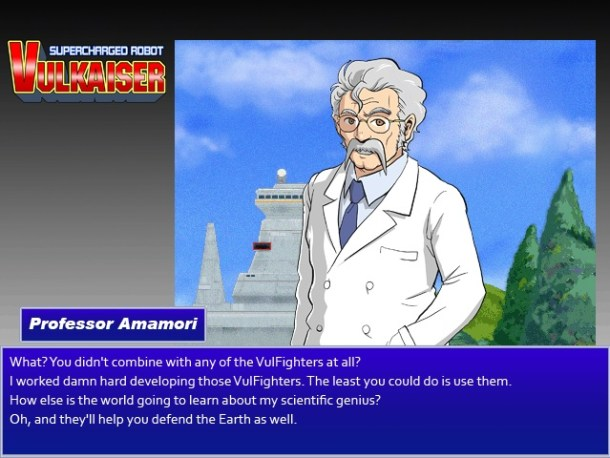 Supercharged Robot VULKAISER | Professor Amamori's True Motive