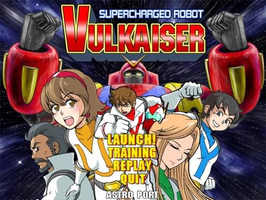 Supercharged Robot VULKAISER | oprainfall