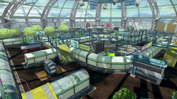 Splatoon - Kelp Dome