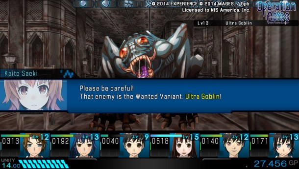 Operation Abyss: New Tokyo Legacy | Wanted Variant