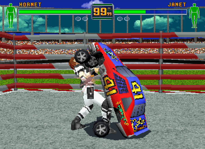 Car Racing Fighting Games