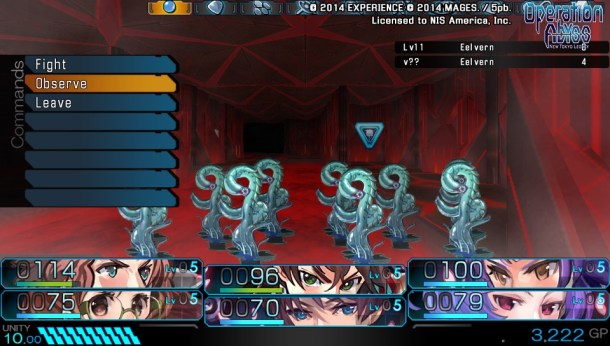 Operation Abyss: New Tokyo Legacy | Ovserving leaves it up the game's RNG factor