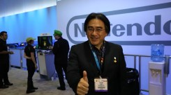 Iwata - E3 2013 Thumbs Up