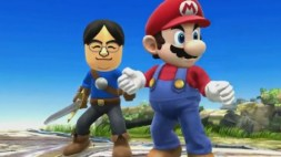 Iwata - Teaming up with Mario