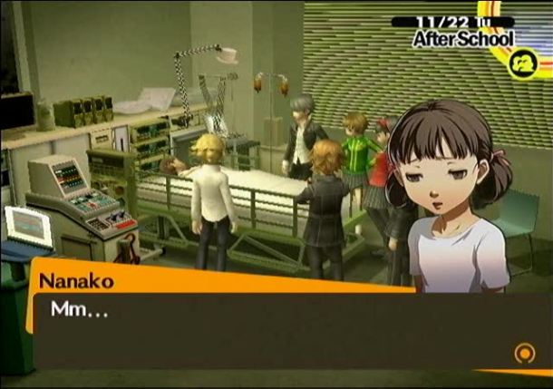 Building Character | Nanako at the Hospital