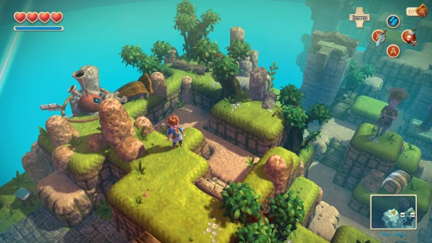 Oceanhorn: Monster of the Uncharted Seas | Isometric View