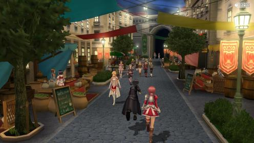 Sword Art Online ReHollow Fragment | Town