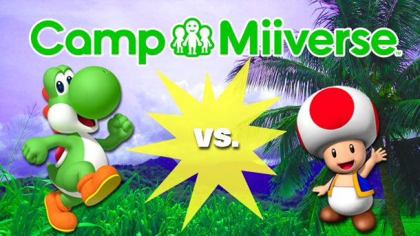 Team Yoshi vs Team Toad