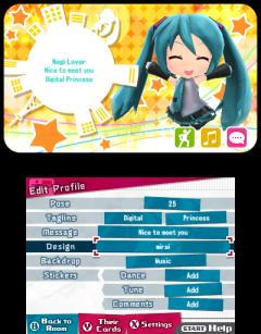 Hatsune Mikue Project Mirai DX | Streetpass 1