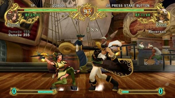 Battle Fantasia: Revised Edition   Freed vs. Coyori