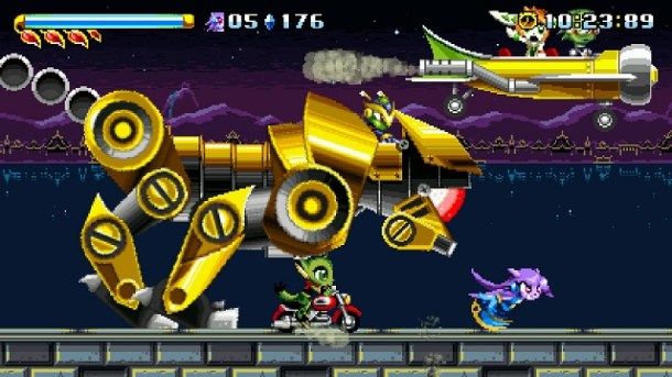 Freedom Planet Game Image