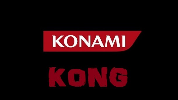 Konami Logo - King and Kong