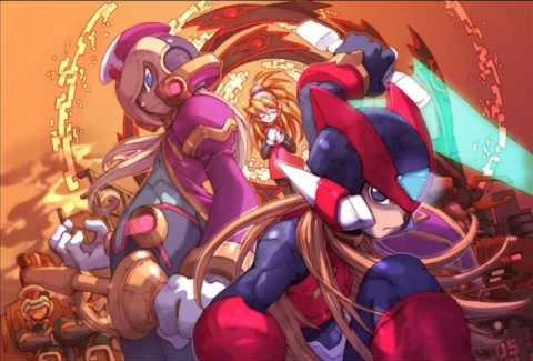 Rockman Zero 2 Boxart | The Future of Mega Man
