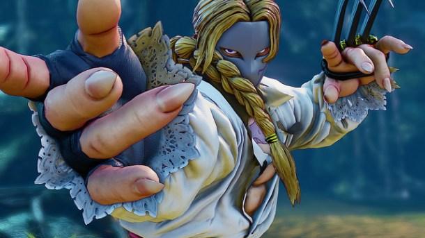 Street Fighter V Vega intro pose