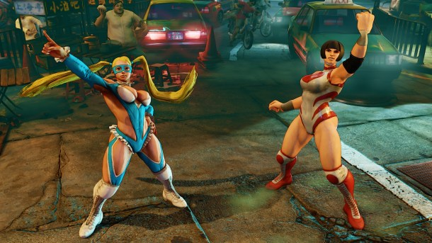 Street Fighter V - R. Mika joins the roster | oprainfall