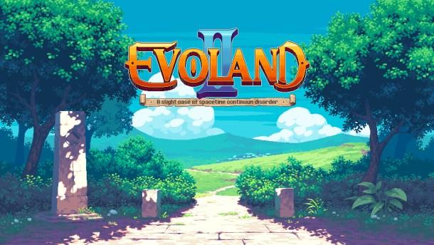 Evoland 2 Title