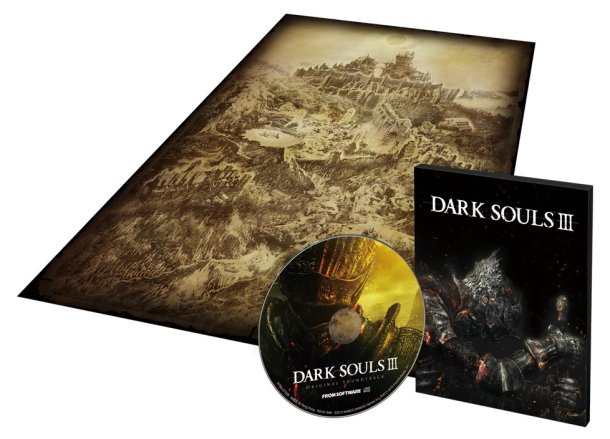 Dark Souls III | Map and Soundtrack