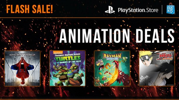 PSN Animation sale