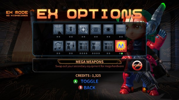 Assault Android Cactus | EX Options