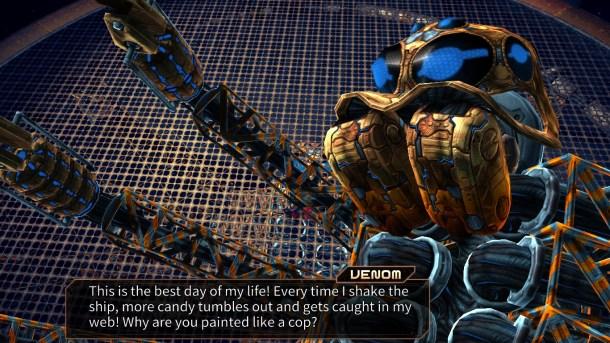 Assault Android Cactus | Venom Dialogue